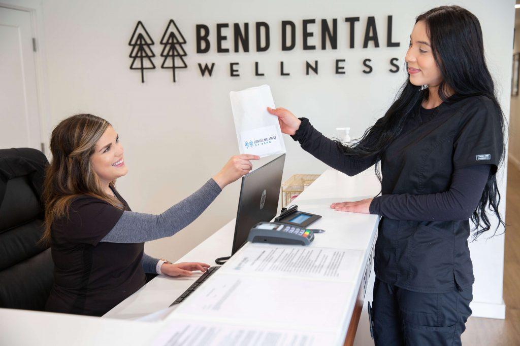 Dental Wellness of Bend front desk